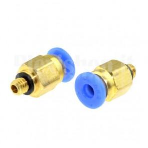 Raccordo Innesto rapido pneumatico per tubo 6 mm filetto M5