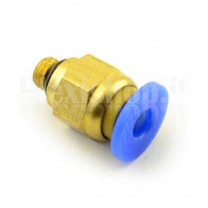 Raccordo Innesto rapido pneumatico per tubo 4 mm filetto M5