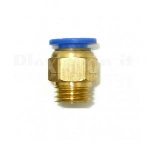 Raccordo Innesto rapido pneumatico per tubo 4 mm filetto M8