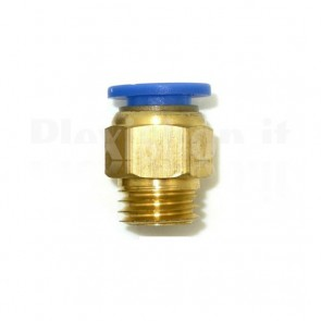 Raccordo Innesto rapido pneumatico per tubo 6 mm filetto M8