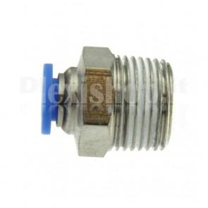 """Raccordo Innesto rapido pneumatico per tubo 10 mm filetto 3/8"""""""