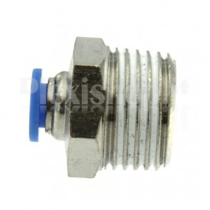 """Raccordo Innesto rapido pneumatico per tubo 8 mm filetto 1/2"""""""
