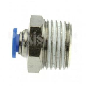 """Raccordo Innesto rapido pneumatico per tubo 10 mm filetto 1/2"""""""