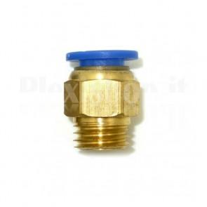 Raccordo Innesto rapido pneumatico per tubo 10 mm filetto M8
