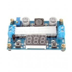 Regolatore di tensione con voltometro, 3.5-30V