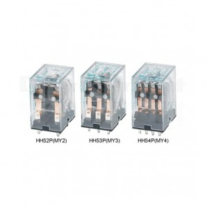 Relay industriale HH53P-DC12V innestabile su zoccolo, 12V 5A