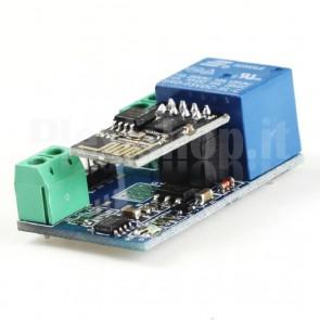 Relay Wi-Fi miniaturizzato con ESP8266, 10A