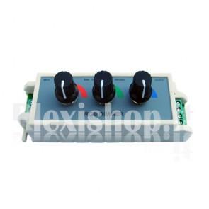 Dimmer RGB PWM a 3 Canali 12V 9A