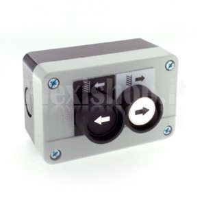 Scatola comando - due pulsanti e selettore