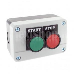 Scatola comando - due pulsanti NO+NC