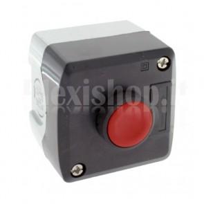 "Scatola comando IP65 - un pulsante rosso NC ""OFF"""