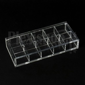 Scatola in plexiglass 17x7,5x3 cm