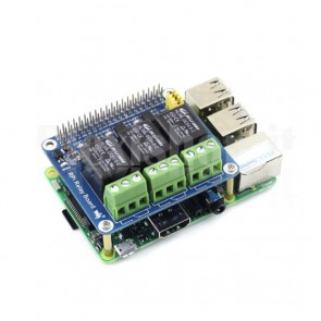 Scheda di Espansione Relay per Raspberry Pi 2 / 3 / B