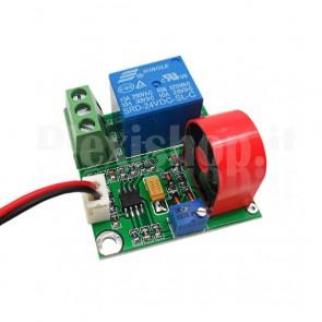 Sensore di corrente con soglia di intervento regolabile, 0~5A