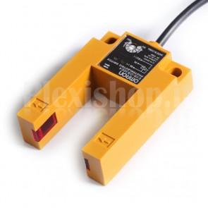 Sensore fotoelettrico a forcella OMRON E3S-GS3E4