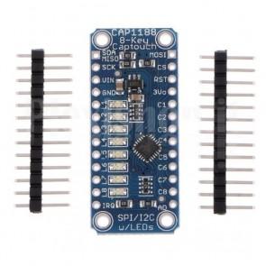 Sensore touch capacitivo a 8 canali, CAP1188