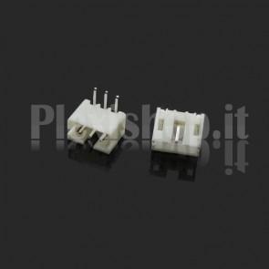 Connettore angolare PH2.0-p da circuito stampato, 3 contatti