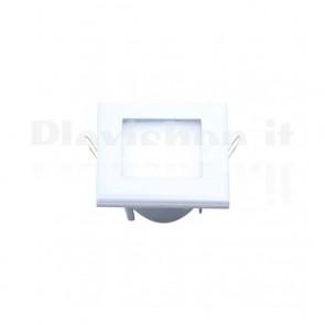 Pannello Faretto Led Quadrato 110 x 110 mm 6W Bianco - Bianco Caldo