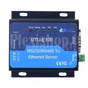 Server seriale DTU-E100 2 porte RS232 / RS485