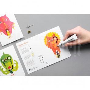 Set di Card Flashing Power Animals