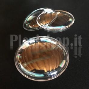 Sfere in Plexiglass Apribili Ø70mm - Piatta