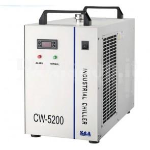 Refrigeratore ad acqua per due laser da 80W CW5202