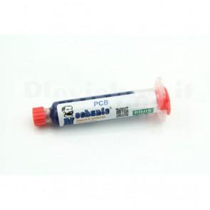 Soldermask UV di colore blu per PCB