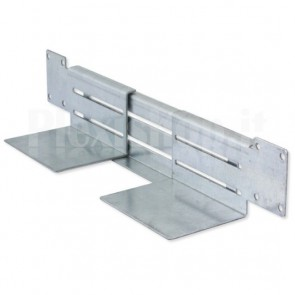 Staffe a L di Sostegno per Case/UPS a Rack 19''