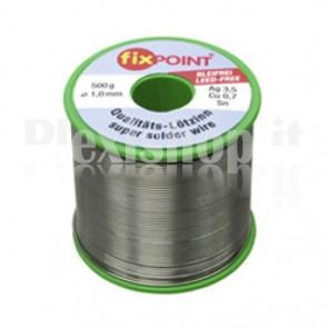 Stagno in rotolo per saldatura diam. 0,50 mm 250gr