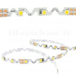 Strip LED bianco caldo ripiegabile 24VDC, 5m