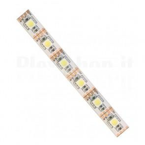 Striscia LED 5050 IP20 bianco caldo 5V PCB Wh