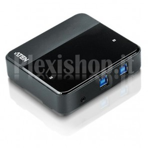 Super Hub per Condivisione 4 Periferiche su 2 PC USB3.0, US234