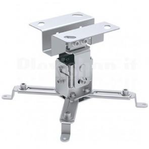 Supporto a Soffitto per Proiettori Estensione 130 mm Silver