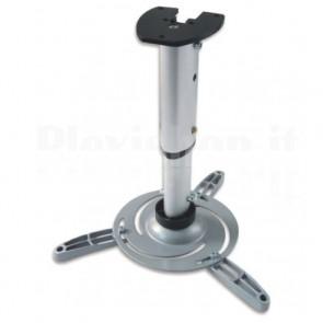 Supporto a Soffitto per Proiettori Estensione 30-37 cm Silver