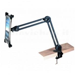 Supporto da tavolo per iPad nero/silver