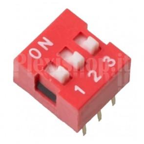 SW6DIP DIP-switch con 3 interruttori indipendenti