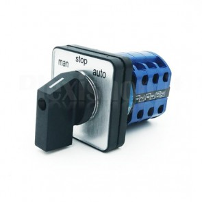 Switch Industriale Rotativo 3P12T 3 Pos. 6 Vie 20A