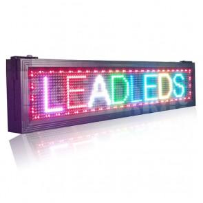 Tabellone RGB LED USB 104 x 24 cm