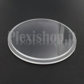 Tappo in plexiglass Ø 90(e)/84(i) mm