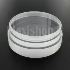 Tappo in plexiglass o-ring Ø 90(e)/84(i) mm