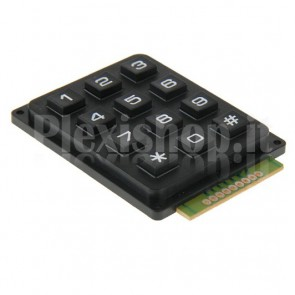 Tastiera Numerica a Matrice 4x3 per Arduino