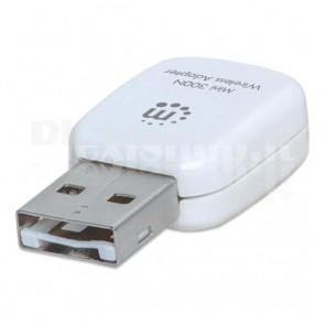 Adattatore Mini 300N Wireless con WPS
