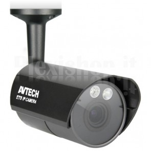 Telecamera IP PoE IR da Soffitto HD 1.3MP IP66 AVM359CP