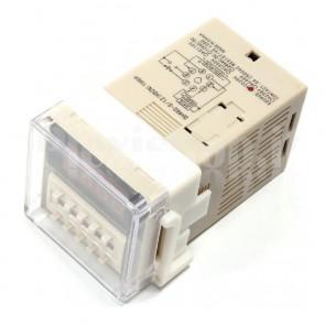 Temporizzatore programmabile alimentato in AC, 1s-99h59m