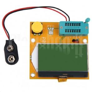 Tester LCR-T4 ESR per componenti elettronici