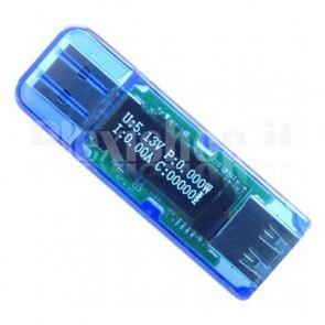 Tester USB 2.0 ad alta tensione, compatibile con Quick Charge 2.0