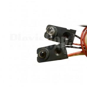 Trasmettitore e Ricevitore IR OMRON, 300mm