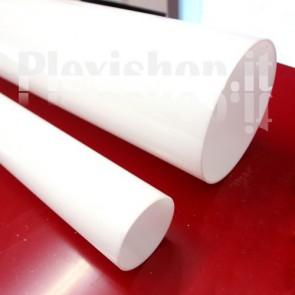 Ritaglio di Tubo plexiglass opal  Ø 250(e)/244(i) mm - L 335 mm
