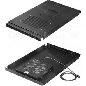 Unità Ventole a Soffitto per Server Rack Professional 600 x 1200 mm