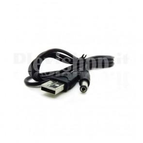 Cavo Alimentazione USB 5.5 mm